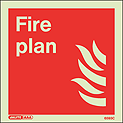 6593C - Jalite Fire Plan Sign