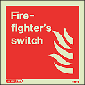 6595C - Jalite Fire Fighting Switch Sign