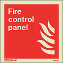 6605C - Jalite Fire Control Panel Sign