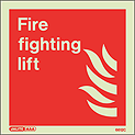 6612C - Jalite Fire Fighting Lift Sign