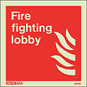 6613C - Jalite Fire Fighting Lobby Sign