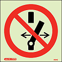 8104C - Jalite Do not operate Sign