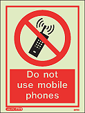 8272D - Jalite Do not use mobile phones Sign