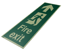 4055X - Jalite Floor Mounted Escape Route Signs
